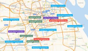 List of Shanghai National Development Zones