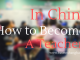How to become a teacher in China