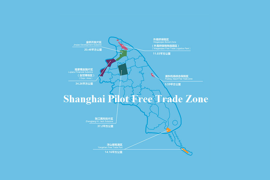 Shanghai Pilot Free Trade Zones