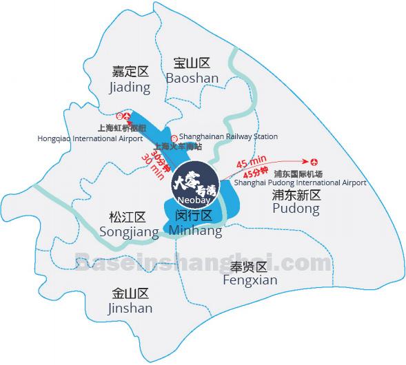 Map Neobay Minhang